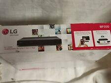 LG Blu-Ray Disc / DVD Player with Wi-Fi (BP350)