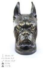 Boxer - dog head resin figurine, high quality, Art Dog
