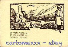 WW1 WWI Propaganda - Attilio - La Vittoria ci Salverà.. - Formato Grande - PV240