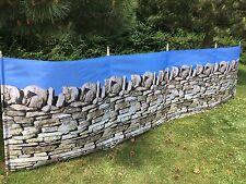 Stone Wall 5 Pole Windbreak Beach Windbreak Camping Wind Break Garden Wind Break