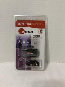EKHO Three Fitness Workout Pedometer - Sealed Brand New