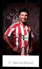 Mark van Bommel Autogrammkarte Bayern München 2010-11 Original Signiert+ C 2599