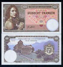 Liechtenstein, 100 Francs, 2018, Private issue, Specimen - Girl with flowers