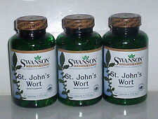 ST JOHN'S WORT 375mg MOOD SAD DEPRESSION STRESS HERBAL SUPPLEMENT 360 CAPSULES