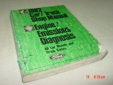 Vintage Ford 1982 Car Truck Shop Manual All Models Engine Emissions Diagnosis
