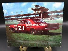 NASCAR 1965 Woods Bros. Ford Marvin Panch Daytona Post Card NOS 7in x 5 1/2in.