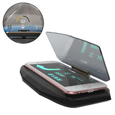 Universal Car GPS HUD Head Up Navigation Display Phone Holder Stand Projector UK