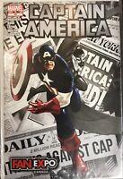 CAPTAIN AMERICA #15 Marvel 2011 Fan Expo Variant Cover
