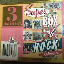 SUPER BOX OF ROCK 3 3CD BOX SEALED 1995 Solid Gold Hits