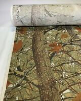 """Twill Camo Fabric Camouflage Skyline Apparition 2.0 Cotton Poly 60""""W By The Yard"""