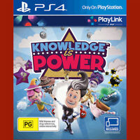 KNOWLEDGE IS POWER - PlayStation 4 PS4 ~3+ BRAND NEW resealed