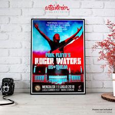 Pink Floyd Roger Waters Us+Them Lucca 11 luglio 2018 Poster Manifesto Locandina