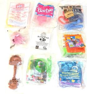 Star Wars Barbie Disney Taco Bell Long John Silver Blues Clues Nemo 9- Toys
