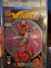X-Force #2 2nd appearace of Deadpool 1st app of Weapon X CGC 9.2