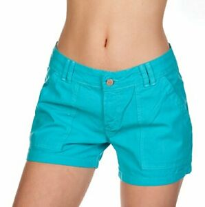Hering Brazilian Sexy Junior Women's Summer Linen Cotton Basic Colored Shorts