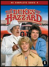 THE DUKES OF HAZZARD : COMPLETE SEASON 4   -  DVD - PAL Region 2 sealed