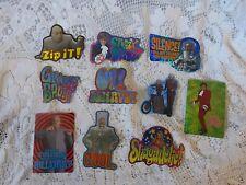 Vintage Vending Machine Stickers Austin Powers 1999 The Spy Who Shagged Me Movie
