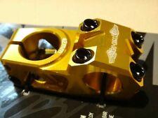 GT BMX CNC Race Stem Gold 42mm Gtstm2gld42