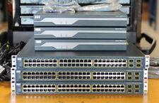 CISCO CCNA CCNP CCIE Lab w/ Cisco 1841,WS-C3560-48PS-S, WIC-2T - 1 YR WTY/TX INV