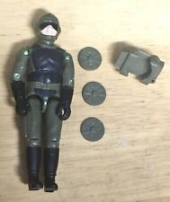 GI Joe 2001 Tripwire Figure With Backpack And Mines