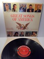 Great Songs of America - Vinyl LP Album Record - Goodyear - XTV 88800 - Columbia
