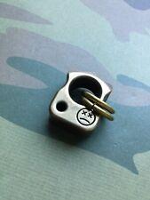 Mini Knuck Pendant • Solid Brass