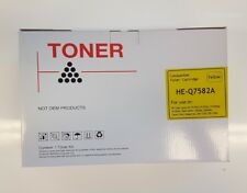 HP Q7582A Yellow Compatible Toner - 6,000 pages