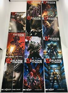 LOT OF 12 GEARS OF WAR RAAM #1-4 / HIVE BUSTERS #1-5 COMPLETE SETS +VARIANTS IDW