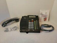 Nortel Norstar T7208 Charcoal 8 Button Display Speaker Telephone Reman