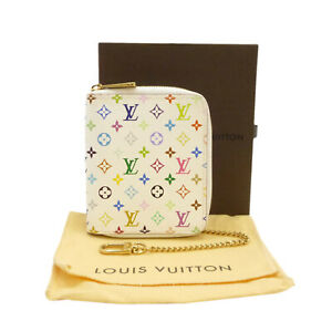 Authentic LOUIS VUITTON Agenda Mini Zippe Day Planner Cover R21046 #S402008