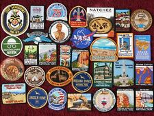 32 NATIONAL PARKS ++ PATCHES -USS MO-HAWAI'I-SANFRAN-NEWORL-JR RANGERS-GRCNYN