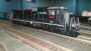 Scaletrains Custom Painted NREX C39-8 #7485 Ex Savage Unit w/sound