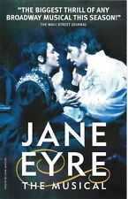 "James Barbour ""JANE EYRE"" (the Musical) Marla Schaffel 2000 Broadway Postcard"