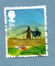 GB/UK stamp 2015 Christmas. The Journey to Bethlehem