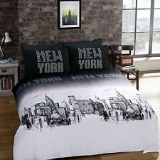3D NYC New York City Night Duvet/ Quilt Cover Sets Bedding Sets All Size