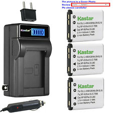 Kastar Battery LCD AC Charger for NP45 NP45A NP45B NP-45S Fujifilm FinePix JZ100