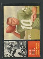 1962 Topps #123 King Hill VGEX C000015866