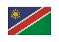 Aufnäher Namibia Fahne Flagge Aufbügler Patch 9 x 6 cm