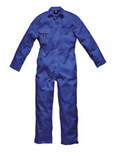 Dickies Wd4819 Redhawk Economy Stud Front Coverall Overalls Mens Boilersuit Royal Blue XL Reg