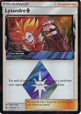 Pokemon SM Forbidden Light Card: Lysandre Prism Star - 110/131 - Rare Holo