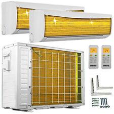 9000+9000 Split Klimaanlage ECO Duo Inverter Dual Multi Klimagerät Multisplit