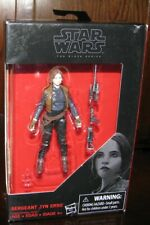 "Disney Star Wars The Black Series Sergeant Jyn Erso (Rogue One) 3 3/4"" Figure"