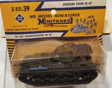 "ROCO Minitank Z-221 M-47 US Medium Tank 'Patton"",  NIB"