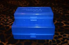 AA & AAA Battery Plastic Storage Containers HOLDS 50 BATTERIES EACH (BLUE)