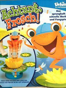 Achtung Frosch Bewegungsspiel für Kids ab 3 Jahre von Elefun, neu und ovp