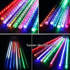 50CM Multi Color Meteor Shower Waterfall Icicle Fairy Outdoor Chasing LED Lights