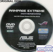 ASUS GENUINE VINTAGE ORIGINAL DISK FOR RAMPAGE EXTREME Motherb Disk M1397
