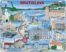 Puzzle Larsen 65 Teile - Rahmenpuzzle - Bratislava (auf Englisch) (48657)