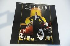 TUCKER THE MAN AND HIS DREAM LP OST JOE JACKSON.  CAR COVER.