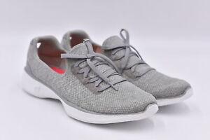 Women's Skechers Go Walk 4 - All Day Slip On Lace Sneakers, Grey, 10